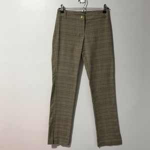 Vintage Women's Cropped Plaid Trousers Size Small